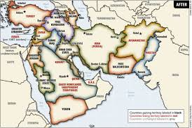 Middle East Countries Map by Very Interesting Map I Found Randomly Portraying A Divided