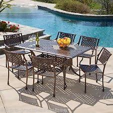 cast aluminum patio furniture ebay