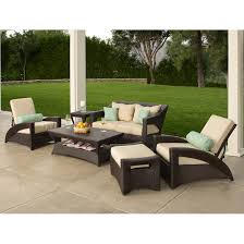 Stamped Patio Designs by Decorating Beautiful Patio Decor With Wicker Furniture And