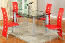 dining room sets 5 piece metro red 5 piece dining set dining furniture room set in metro