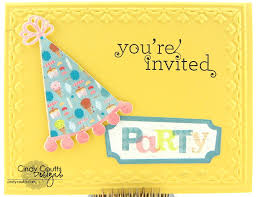 you re invited card b designs