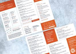 vibe restaurant menu design 1 nice branding agency