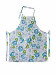 Apron Prints Cotton Bib Spring Floral Printed Old Fashioned Aprons Ladies Apron