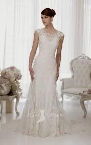 Wedding Dresses With Sleeves Uk Vintage Lace Wedding Dresses Cap Sleeves Naf Dresses