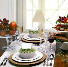 dining table arrangement affordable dining table christmas decorationson dining table