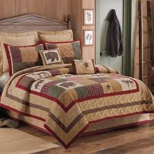 amazon com c u0026f home big sky twin quilt set lodge themed pieced