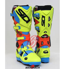 sidi motocross boots sidi crossfire 2 srs tony cairoli limited edition
