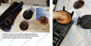 Porsche Cayenne 3 6 - diaphragm porsche cayenne 3 6 m55 01 for valve crankcase