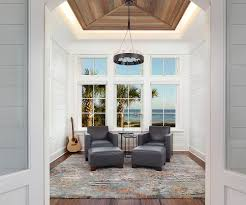 Contemporary Design 25 Cheerful And Relaxing Beach Style Sunrooms