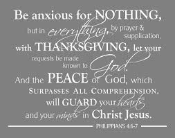 philippians 4 6 7 be anxious for nothing scripture wall