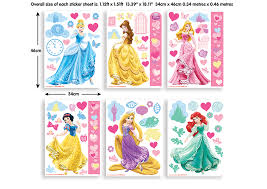 Princess Room Decor Disney Princess Room Decor Kit Walltastic