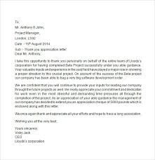 appreciation letter sample template homejobplacements org