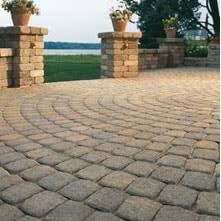 Circular Patio Kit by Landscaping Pavers Oberfields Llc