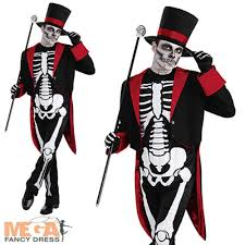 dapper halloween costumes skeleton costumes mega fancy dress