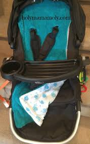 Baby Blue Cushions Outdoor Travel Reversible Baby Body Support Stroller Pram Seat