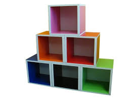 Toy Storage Bookcase Unit Bright Colorful Toy Storage Options For Kids Toy Storage