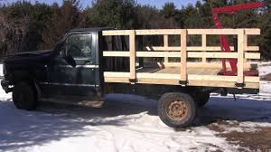 wooden truck bed sides for the flatbed truck youtube