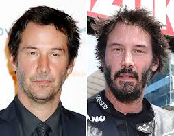 Rugged Hair The Matrix Star Keanu Reeves Has Opted For A More Rugged Look Of