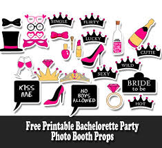 printable girly photo booth props free printable bachelorette party photo booth props bridal