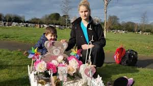 swindon reaches compromise ornaments on child s grave