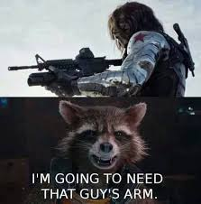 Winter Soldier Meme - meme monday rocket meets the winter soldier the collective