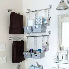Bathroom Countertop Storage by Clear Handled Storage Baskets Bathroom Cabinet Storage Organizers
