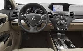 mitsubishi crossover interior 2012 acura rdx crossover debuts this spring automotorblog