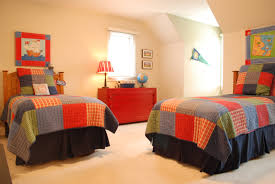 divine bright bedroom color ideas with unfinished wooden bed