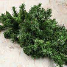 artificial canadian pine swag artificial greenery floral