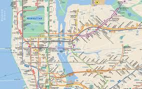 mta map subway nyc subway map pdf my