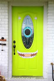 Halloween Cheap Decorating Ideas Decoration Appealing Halloween Front Door Decorations Cheap