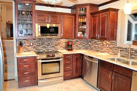 kitchen backsplash cherry cabinets kitchen backsplash wood kitchen cabinets paint color light