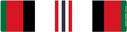 afghanistan ribbon afghanistan war service ribbon bar magnet automotive
