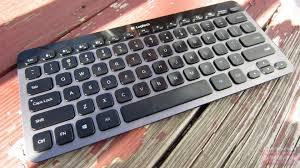 Light Up Wireless Keyboard Logitech Bluetooth Illuminated Keyboard K810 Review Yes You Want One