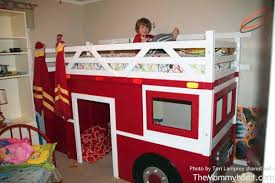 Build Your Own Wooden Bunk Beds by Diy Firetruck Bunk Bed Built By Two Grandpas