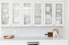 Finishing Our Kitchen Cabinets With Tempaper All We Are - Kitchen cabinet wallpaper