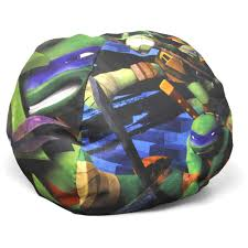 nickelodeon teenage mutant ninja turtles mini round bean bag