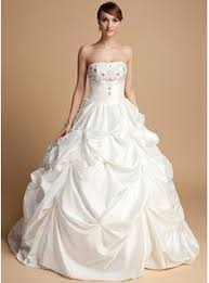 duchesse linie herzausschnitt bodenlang taft brautkleid mit spitze p94 gown sweetheart chapel satin wedding dress with ruffle