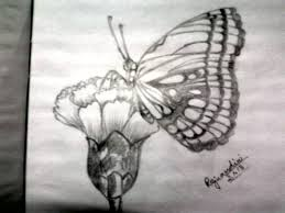 butterfly paintings desipainters com flowers and leaves