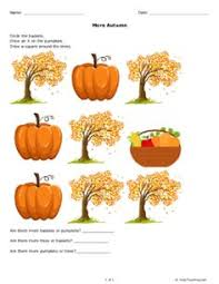 classifying thanksgiving objects a free printable from help