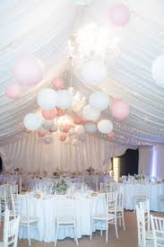 Ceiling Drapes With Fairy Lights Marquee Fairy Lights Lanterns Stylish Relaxed Pink Blue Spring