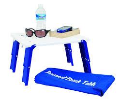 rio folding beach table amazon com rio gear rio brands personal beach table bpt 01