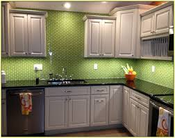 green kitchen tile backsplash green glass tile kitchen backsplash home design ideas green