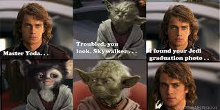 Anakin Skywalker Meme - jedi mouseketeer meme week anakin skywalker finds yoda s