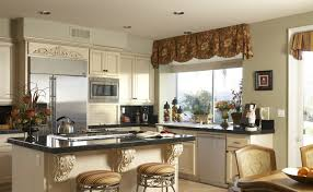 simple kitchen valance ideas the new way home decor