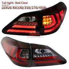 lexus rx 350 warning lights sonar brand for lexus rx350 rx330rx270 rx450h led tail light fit