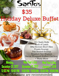 hours prices santos modern american buffet