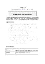 systems analyst resume doc quality analyst resume ideal example samples u2013 helendearest