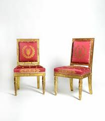 chaise dor e chaise empire simple chaise empire with chaise empire chaise