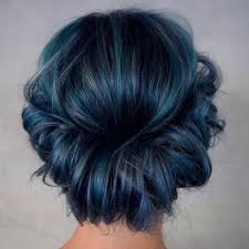 25 eye catching dark blue hair color ideas u2014 mystery in your loc